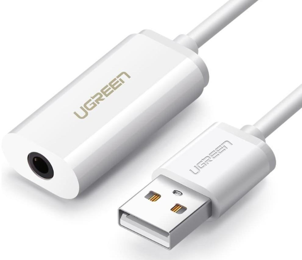 UGREEN USB オーディオ 変換アダプタ