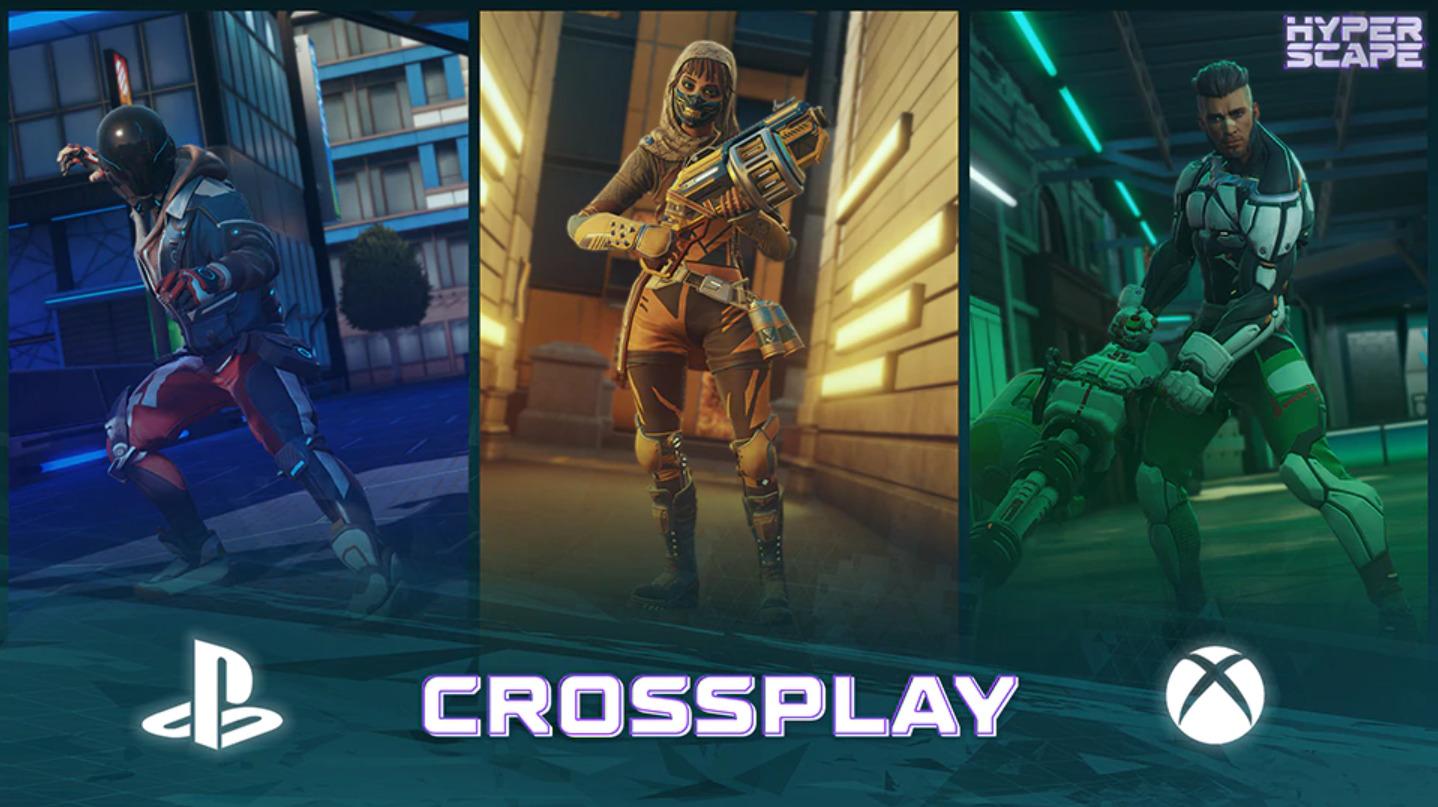 【ハイパースケープ】ついにクロスプレイが実装!クロスプレイの詳細について