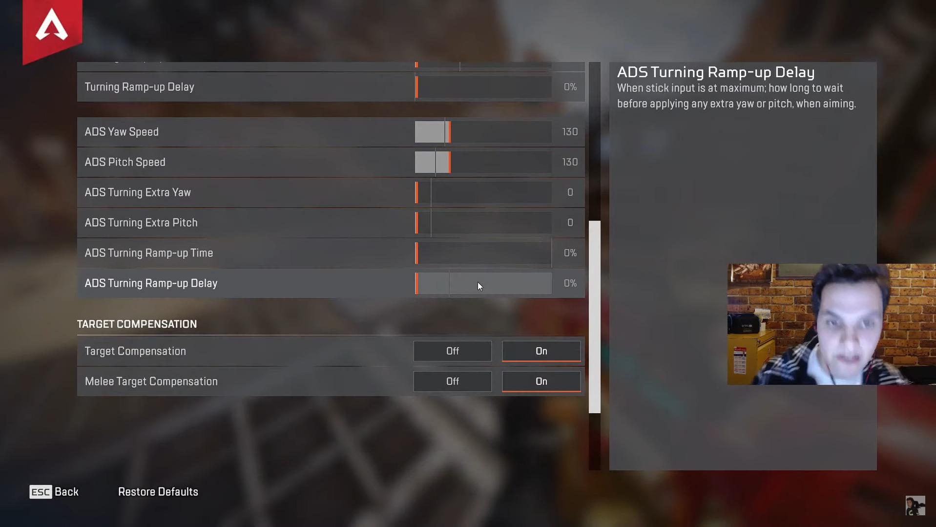 【Apex Legends】PAD世界最強!ジェンバーテン(Genburten) 最新のボタン配置設定・感度設定・使っている周辺機器(デバイス) まとめ【エーペックスレジェンズ】