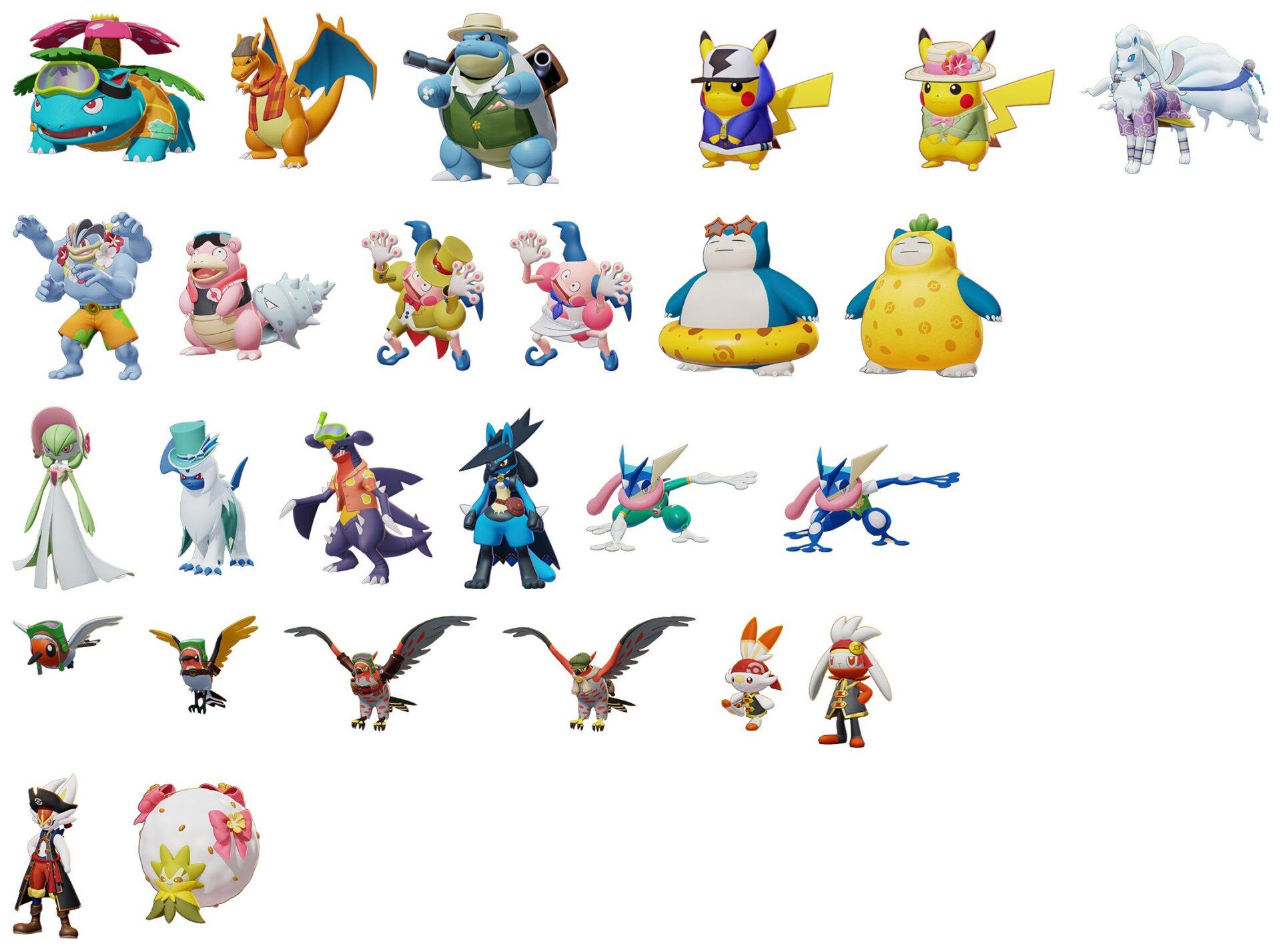 【ポケモンユナイト】新キャラリーク情報【新ポケモン】【Pokémon UNITE】