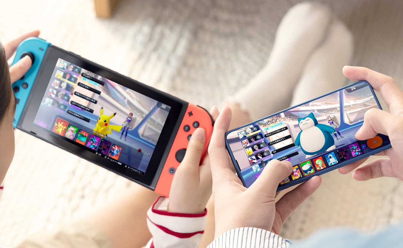【ポケモンユナイト】Switchとスマホどっちがおすすめ?メリット・デメリットを徹底解説!【Pokémon UNITE】